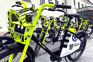 Trnava bikesharing has thirty new shared electric bicycles
