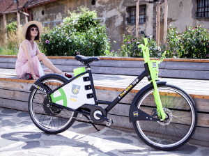 How are the electric bikes protected?